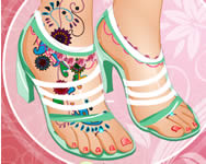 Fabulous foot makeover csajos j�t�kok