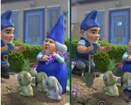 Gnomeo and Juliet spot the difference online j�t�k