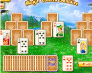 Magic towers solitaire online játék