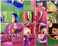 Strawberry Shortcake Rotate Puzzle csajos j�t�kok ingyen