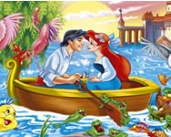 The Little Mermaid hidden objects csajos j�t�kok