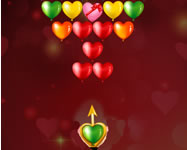 Bubble shooter Valentines online