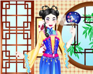 Chinese princess wedding dress up online