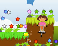 Dora adventure with stars online játék