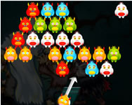 Monster bubble shooter online